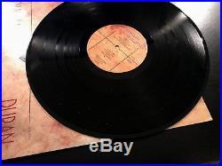 RARE Duran Duran Signed Seven and the Ragged Tiger Album Vinyl Autograph Promo