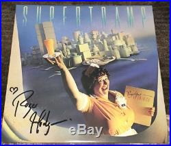 ROGER HODGSON SIGNED SUPERTRAMP BREAKFAST IN AMERICA VINYL ALBUM withEXACT PROOF