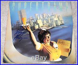 ROGER HODGSON SUPERTRAMP SINGER AUTHENTIC SIGNED VINYL RECORD ALBUM LP B withCOA