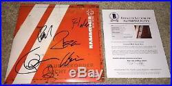 Rammstein Band Signed Reise, Reise Album Vinyl Germany Till Lindemann +5 Bas