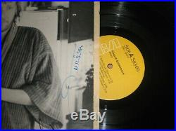 Rare Harry Nilsson Schmilsson Signed Album Vinyl Lp