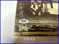 Rare Psa Elton John Signed Autograph Album Vinyl Record Tumbleweed Connection