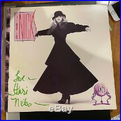 Rare Stevie Nicks Fleetwood Mac Signed Record Album Lp Vinyl Beckett Bas