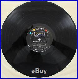 Ringo Starr Signed A Hard Day's Night Soundtrack Album Cover w Vinyl BAS #A70465