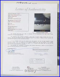 Robert Plant Signed Principle of Moments Vinyl Record Album Autograph JSA LOA