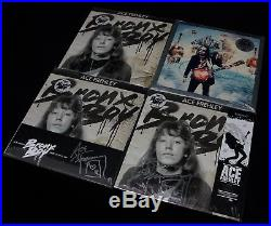 Rockologists Ace Frehley Signed Vinyl Bundle BRONX BOY & ORIGINS 6 Albums KISS