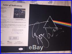 Roger Waters Autographed Pink Floyd Dark Side Of The Moon Vinyl Album JSA LOA