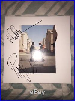 Roger Waters Nick Mason Signed Pink Floyd Wish You Were Here Vinyl Album Jsa Coa