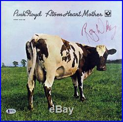 Roger Waters Pink Floyd Signed Atom Heart Mother Album Cover With Vinyl BAS