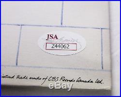 Roger Waters Signed Pink Floyd The Wall Vintage Vinyl Album EXACT Proof JSA COA