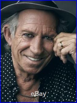 Rolling Stones Keith Richards Signed Autographed Vintage Vinyl Album (Flowers)