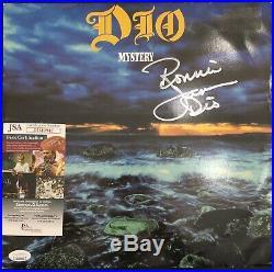 Ronnie James Dio Signed Vinyl Record LP JSA COA Autograph Album