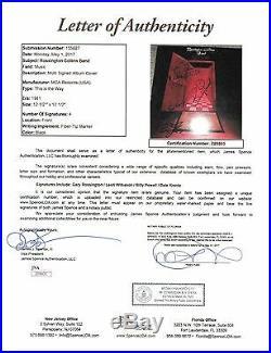 Rossington Collins Band Signed Autograph Record Album JSA Vinyl Lynyrd Skynyrd