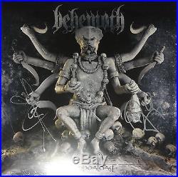 SIGNED BEHEMOTH AUTOGRAPHED THE APOSTASY 12 VINYL LP ALBUM WithPICS NICE