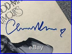 SIGNED! Fleetwood Mac Rumours autograph album vinyl LP McVie Buckingham