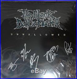 SIGNED THE BLACK DAHLIA MURDER AUTOGRAPHED 12 VINYL LP ALBUM WithPICS NICE
