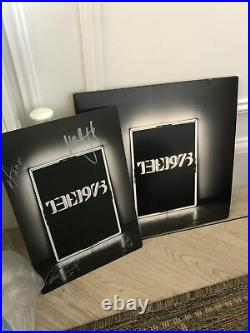 SIGNED The 1975 Vinyl First Album With Art Card Very Rare