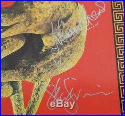 SIOUXSIE SIOUX THE BANSHEES Signed Autograph Cities In Dust Album Vinyl LP x4