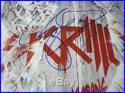 SKRILLEX signed vinyl album Bangarang