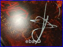 SLAYER Repentless 1st press vinyl FULLY SIGNED by SLAYER
