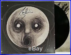 STEVEN WILSON SIGNED RAVEN VINYL LP RECORD ALBUM WithCOA PORCUPINE TREE