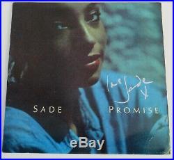 Sade' SADE Signed Autograph Promise Album Vinyl Record LP