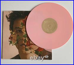 Shawn Mendes Signed Self Titled LP Album PSA/DNA #AE98527 Auto Pink Vinyl Rare