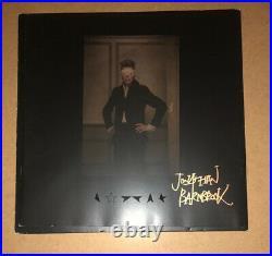 Signed David Bowie Black Star Album Vinyl Jonathan Barnbrook Rare Authentic