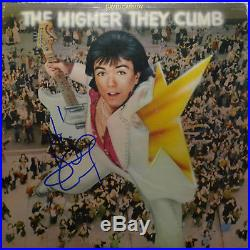 Signed David Cassidy Autographed The Higher They Climb 12 Album Lp Vinyl Nice