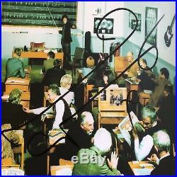 Signed Noel & Liam Gallagher Oasis The Masterplan Vinyl Album