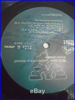 Signed Vinyl Record Album Lp What Goes Around Comes Around Waylon Jennings