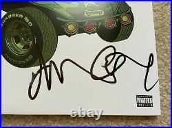 Singer Damon Albarn Signed Gorillaz Album Vinyl Blur Jamie Hewlett Bas