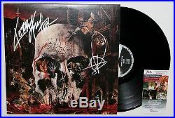 Slayer Signed South Of Heaven Lp Vinyl Record Album Kerry King Tom Araya Jsa Coa