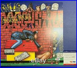 Snoop Dogg Signed Vinyl PSA/DNA COA Doggystyle Gin & Juice Rap Album Lp Record