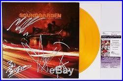 Soundgarden Signed Rsd Before The Doors Live 10 Orange Vinyl Album Jsa Cert