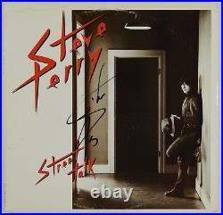 Steve Perry JSA Signed Autograph Record Street Talk Journey JSA COA