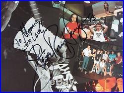 Stevie Ray Vaughan Double Trouble Live Signed Autograph Record Album JSA Vinyl