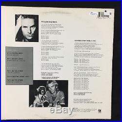 Sting We'll Be Together Signed Autograph Record Album JSA Vinyl