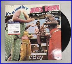 T83882 James Brown Signed Record Album Vinyl AUTO PSA/DNA COA