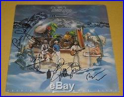 THE BEACH BOYS signed X4 autographed Keepin The Summer Alive vinyl album! JSA