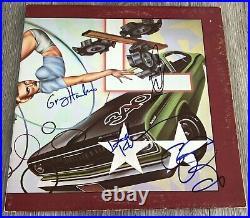 THE CARS SIGNED HEARTBEAT CITY VINYL ALBUM RIC OCASEK +3 wPROOF BECKETT BAS LOA