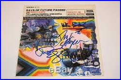 THE MOODY BLUES BAND SIGNED DAYS OF FUTURE PASSED VINYL ALBUM RECORD withCOA PROOF
