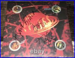 THE PIXIES SIGNED AUTOGRAPH BOSSANOVA VINYL ALBUM BLACK FRANCIS +2 withEXACT PROOF