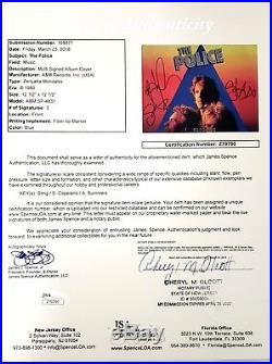 THE POLICE Sting +2 Signed Autographed ZENYATTA MONDATTA Album Vinyl JSA