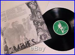 THE ZOMBIES Signed Autograph Odessey & Oracle Album Record Vinyl LP by All 4