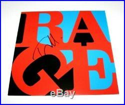 TOM MORELLO SIGNED RAGE AGAINST THE MACHINE RENEGADES VINYL ALBUM RECORD withCOA