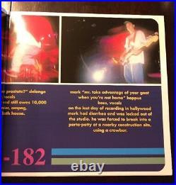 TRAVIS BARKER Signed BLINK 182 LP Album Vinyl INSCRIBED MUTHA F BARKER JSA/COA