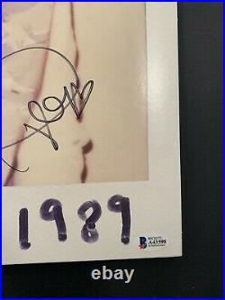 Taylor Swift Signed'1989' Album Vinyl Record Lp Bas Coa Loa Autograph