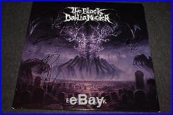 The Black Dahlia Murder Signed Everblack Purple Vinyl Lp Ritual CD Photo Proof