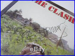 The Clash Combat Rock signed autographed vinyl record album CBS Records PSA DNA